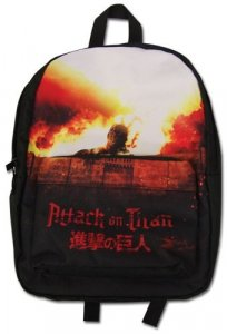 Attack on Titan Key Art Back Pack Bag