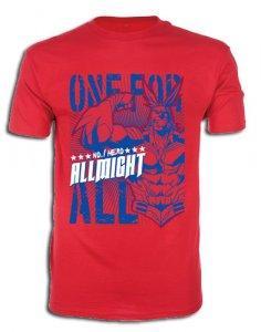 My Hero Academia All Might Red Men's T-Shirt