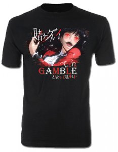 Kakegurui Jabami Men's Black T-Shirt