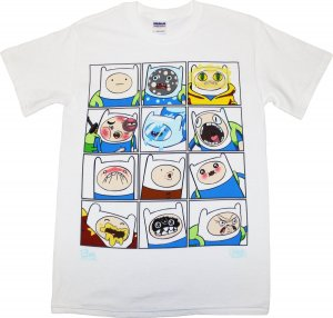 Adventure Time Grid T-Shirt