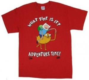 Adventure Time What Time Is It? T-Shirt