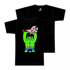 Tokidoki X Marvel Hulk Throw Down Black T-Shirt