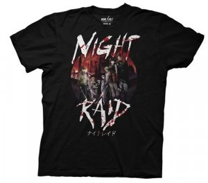 Akame Ga Kill Night Raid Black Men's T-Shirt