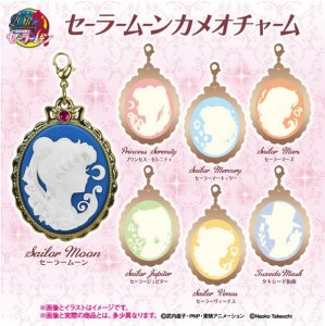 Sailor Moon Sailor Mercury Cameo Key Chain Charm Fastener