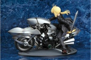 Fate Zero Saber and Saber Motored Cuirassier 1/8 Scale Figure