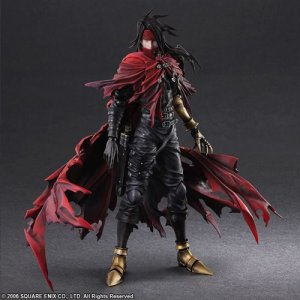 Final Fantasy VII Dirge of Cerberus Vincent Valentine Play Arts Kai Action Figure