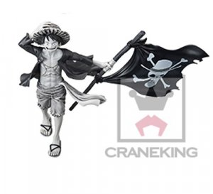 One Piece 6'' Luffy with Flag Color Var. Banpresto Prize Figure