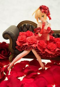 Fate Extra Idol Emporer Nero 1/7 Scale Aquamarine Figure