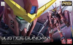 Gundam Justice Z.A.F.T. Mobile Suit ZGMF-X09A RG Model Kit Figure