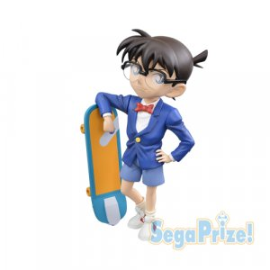 Case Closed Detective Conan 5'' Conan with Skateboard Sega Prize Figure