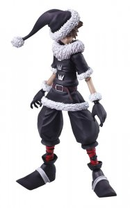 Kingdom Hearts II Sora Christmas Town Ver. Bring Arts Action Figure