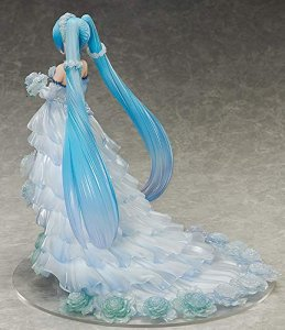 Vocaloid Hatsune Miku Wedding Dress Ver. 1/7 Scale Figure
