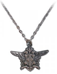 Black Butler Phantomhive Emblem Necklace
