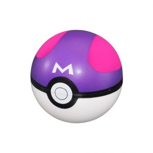 Pokemon 3'' Master Ball Pokeball Foam Ball Gashapon Accessory