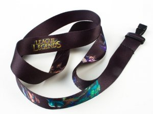 League of Legends Lanyard Key Chain