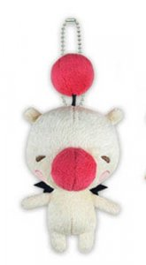 Final Fantasy All Stars 3'' Moogle Plush Key Chain