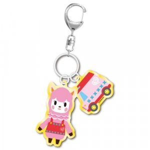 Animal Crossing Reese and Charm Key Chain