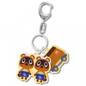 Animal Crossing Timmy and Tommy and Charm Key Chain