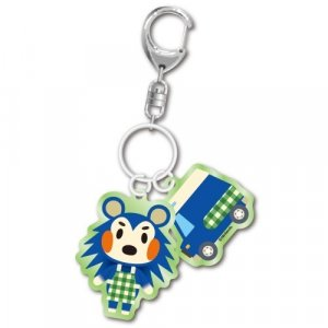 Animal Crossing Mabel and Charm Key Chain