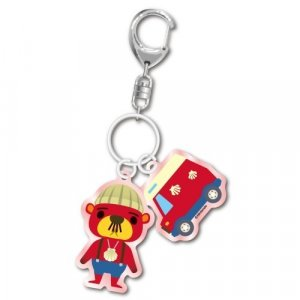 Animal Crossing Pascal and Charm Key Chain