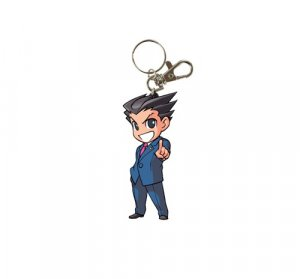 Ace Attorney Phoenix Wright Rubber Key Chain
