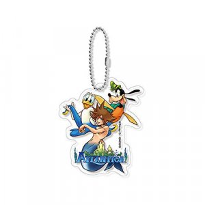 Kingdom Hearts Atlantica Sora, Goofy, and Donald Acrylic Key Chain