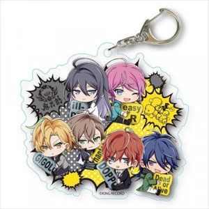 Hypnosis Mic Fling Posse and Matenrou Group Acrylic Key Chain