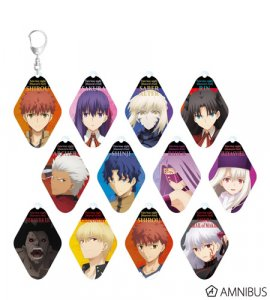 Fate Stay Night Heaven's Feel Rin Amnibus Acrylic Key Chain