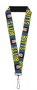 Bob's Burgers Butts Lanyard Key Chain