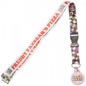 Five Nights At Freddy's Fazbear's Pizza Lanyard Key Chain