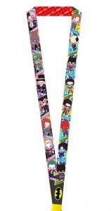 Batman Villains Joker Kotobukiya Lanyard Key Chain