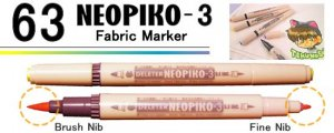 Neopiko-3 Water Based Double Sided Single Marker