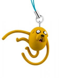 Adventure Time Jake 3D Mascot Phone Strap