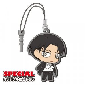 Attack on Titan Levi Suit Phone Plug Rubber Phone Strap