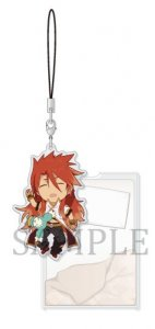 Tales of the Abyss Luke fone Fabre Series Oyasumi Acrylic Strap