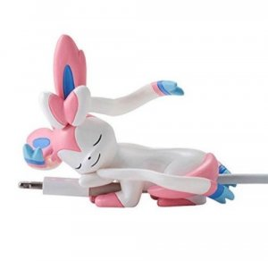Pokemon Sylveon Sleeping Phone Cord Buddy