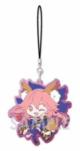Fate Extella Caster Tamamo no Mae Rubber Phone Strap