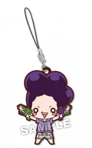 My Hero Academia Minoru Mineta Summer Series Rubber Phone Strap