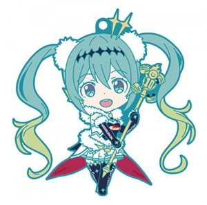 Vocaloid Racing Miku Main Visual Ver. GT Project Rubber Strap