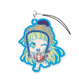 Bang Dream Tsurumaki Kokoro Hello Happy World Vol. 2 Gashapon Rubber Phone Strap