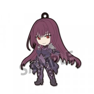 Fate Extella Link Lancer Scathach Pic-Lil! Rubber Phone Strap