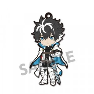 Fate Extella Link Saber Charlemagne Pic-Lil! Rubber Phone Strap