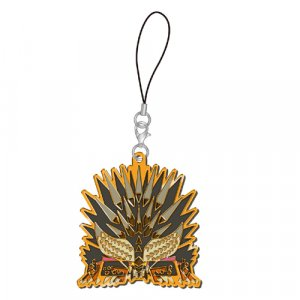 Monster Hunter Nergigante Arch Tempered Stained Glass Metal Phone Strap