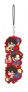 Hypnosis Mic Buster Bros!!! Group Rubber Phone Strap
