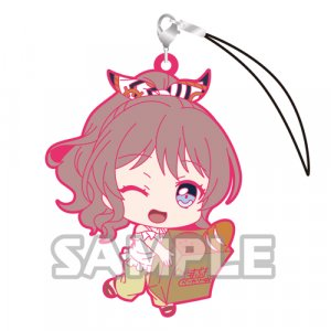Bang Dream Yamabuki Saaya Holding Groceries Poppin'Party Phone Strap