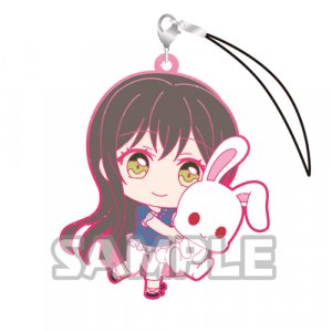Bang Dream Hanazono Tae Holding Bunny Glitter Ver. Poppin'Party Phone Strap