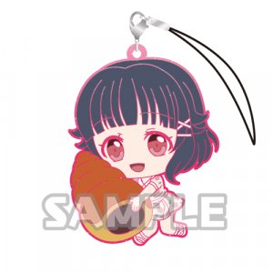 Bang Dream Ushigome Rimi Holding Pastry Glitter Ver. Poppin'Party Phone Strap