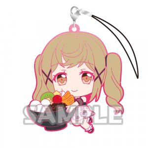 Bang Dream Ichigaya Arisa Holding Dessert Glitter Ver. Poppin'Party Phone Strap