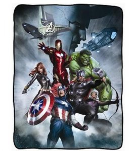 Avengers Group Fleece Throw Blanket