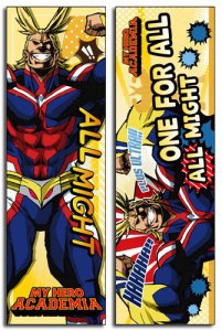 My Hero Academia All Might Eraserhead 4' Body Pillow